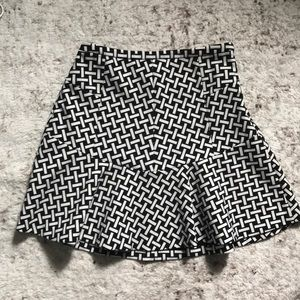 Diane Von Furstenberg Geo Print Mini Skirt